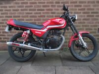 Suzuki GS 125cc Motorbike Ready to ride