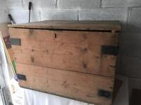 Chest in need of restoration