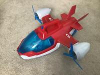 Paw patrol robo dog & plane
