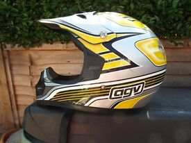 AGV RC5 motocross helmet, medium size