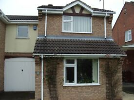 Double room to rent in Wollaton. Clean, newly decorated house in quiet cul-de-sac