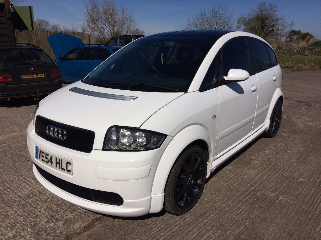 2004 audi a2 1 4tdi sport white 1 4 diesel tdi polo golf a1 a3 fabia 1 9 works edition. Black Bedroom Furniture Sets. Home Design Ideas