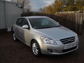 KIA CEED 2007 57 1.6 LTR CRDI TURBO DIESEL SERVICE HISTORY 1 YEAR FRESH MOT WARRANTIED CLEAN CAR!!!