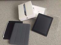 Apple iPad 3 64GB Black Wi-Fi + 4G UNLOCKED Boxed BUNDLE