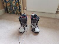 Snowboard Boots - ladies 6.5