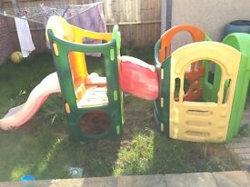 *Reduced for quick sale* Little Tikes 8 in 1 Outdoor Playground 2 Slides