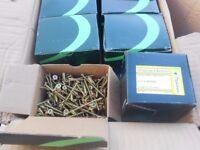 wood screws 4 x 60mm 200 screws per box brand new