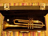 trumpet outfit - plays well, good affordable starter instrument