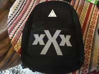 Spiral backpack padded black used good condition £4