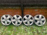 Genuine vw alloy wheels