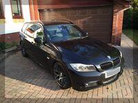 2009 BMW 318D M SPORT TOURING BUSINESS EDITION BLACK E91