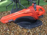 Flymo Gardenvac (Electrolux) Garden Vac/Leaf Blower 2500W Turbo Model No. MEV2500