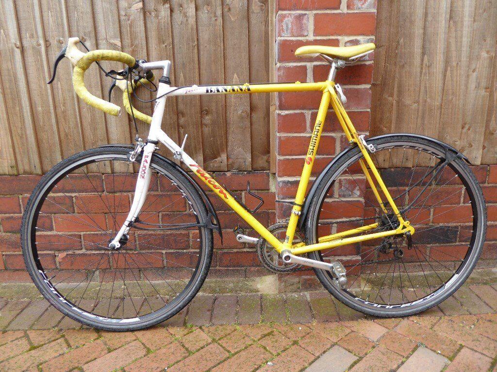 Falcon Banana Road Bike + accessories
