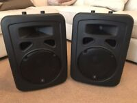 QTX Speakers With Cables