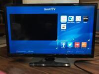 """HITACHI 24"""" LED SMART TV WiFi 24HBT45U"""