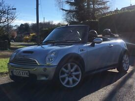 Lovely Silver MINI COOPER S Convertible - low mileage / 1 yr MOT - perfect as summer is coming!