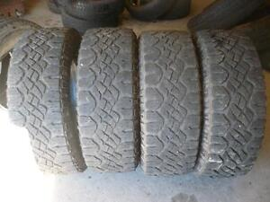 Four Lt 275-65-18 tires $250.00