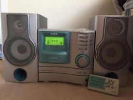 3 cd compact disc stereo system