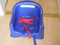 Strap on seat ( Blue)