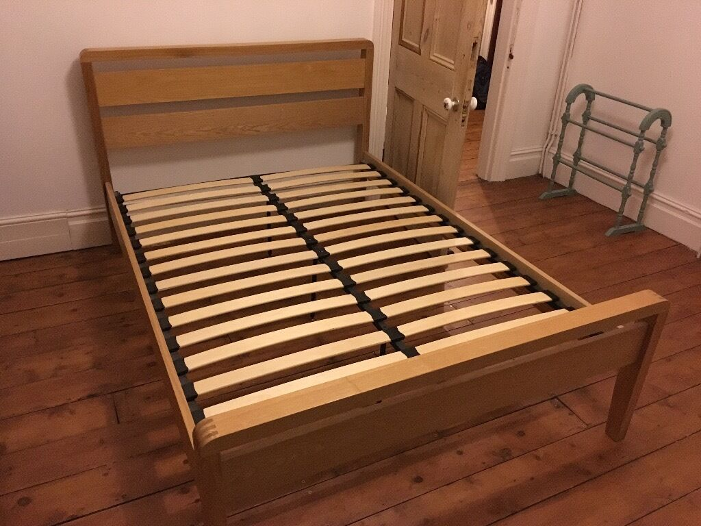 double bed frame wooden bensons for beds in plymouth. Black Bedroom Furniture Sets. Home Design Ideas