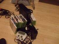 xbox 360 slim 250 gb loads of games
