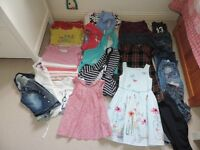 Large bundle of clothing for girl, age 6