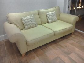 Fabric sofa. DFS very good condition.