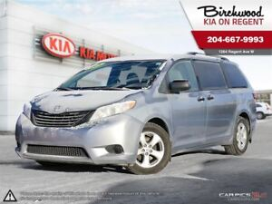 2015 Toyota Sienna 5dr 7-Pass FWD **THE LOWEST PRICE in Canada!!