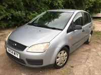 FORD C MAX 1.6 LX ** 54 PLATE ** 44,000 MILES ** YEAR MOT **