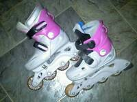 In line skates size 12 to 2