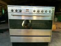 Smeg dual fuel cooker oven range