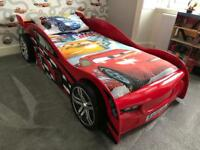 Single Bed - Racing Car