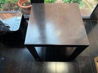 Table black laminate
