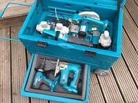 Makita 18V cordless combo kit