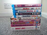 Chick flick dvd/blue ray bundle