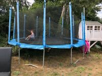 Large trampoline for children or adults