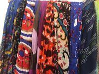 Ladies summer scarves bundle