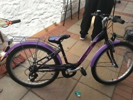 Girls bicycle 24inch wheels
