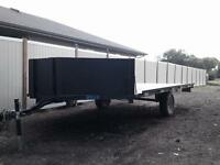 2011 majestik 3 place trailer