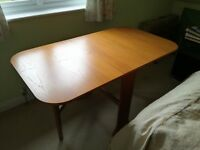Folding dining room table - ideal for small spaces