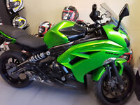 2013 Kawasaki ER6-F 649cc Motorcycle. £3250. 13016 Miles. 12 months Mot. GPS Tracker Fitted.
