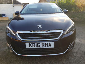2016 Peugeot 308 Allure 2.0 Diesel BlueHDi 150 5 door Automatic EAT6
