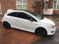 2010 Vauxhall corsa 1.2 limited edition