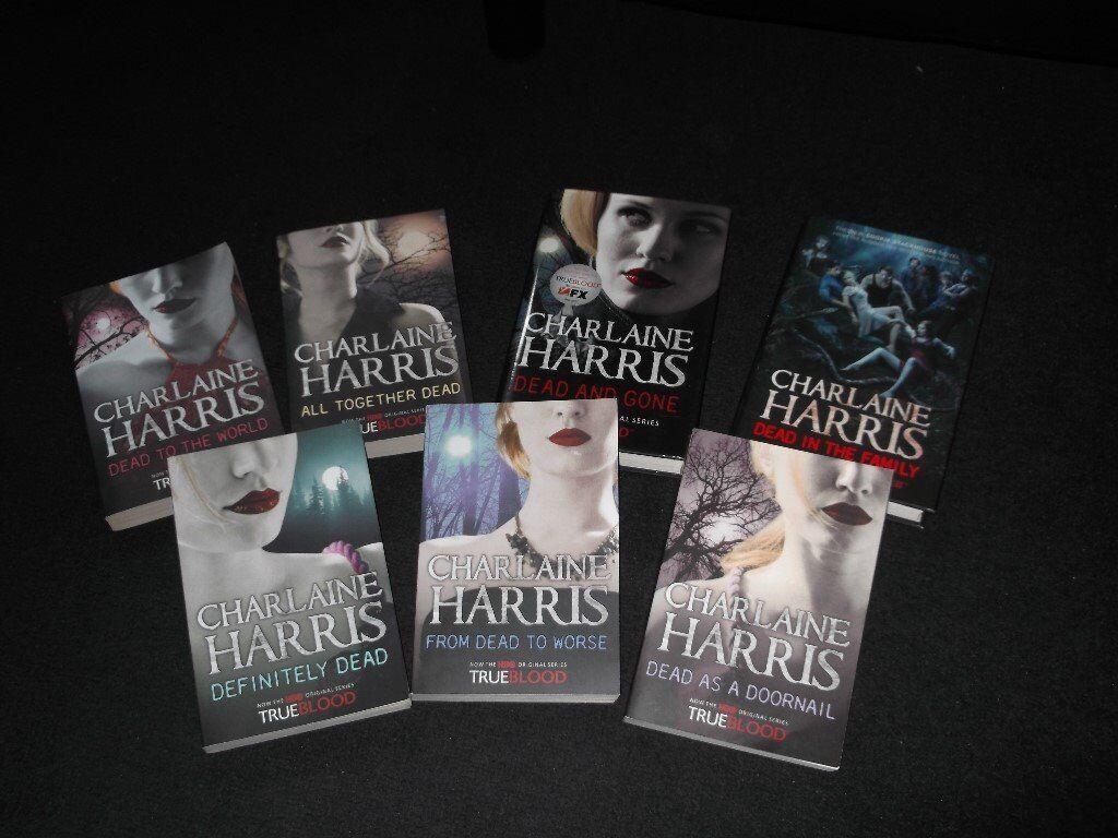 7 Charlaine Harris Books, Trueblood.