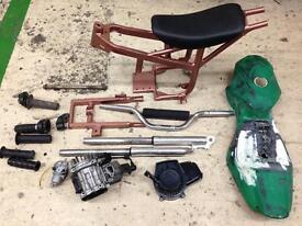 Mini Moto parts lot