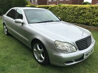 Superb Luxury 2003 Merced Benz S350 3.7 Auto Flagship Model Only 61000 Miles FSH Over 10k Extras