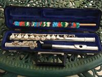 Flute - With Hard Case and Cleaning Rod