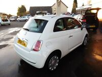 Fiat 500 1.2 Pop 3dr (white) 2014