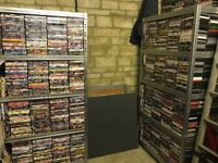 2500+ DVDs. Job lot, car boot resale. Less than 12p per DVD!! Delivery available.