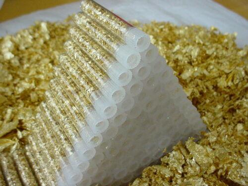 10 Gold Flake Vials... Lowest Price online !!
